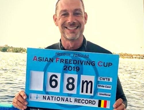 Nieuw bifins record voor Gert Leroy!